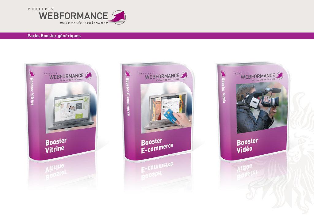Packs Publicis Webformance