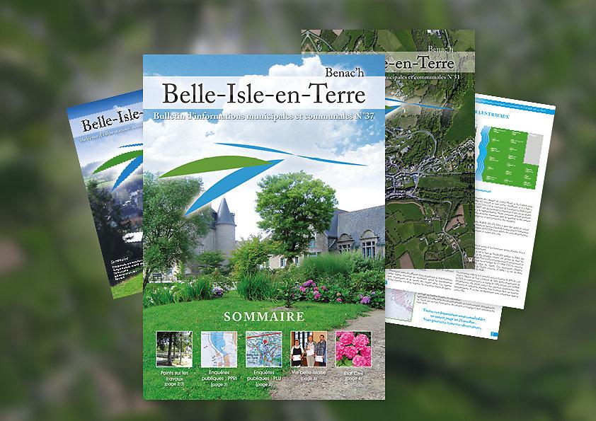 Bulletin municipal de Belle-Isle-en-Terre
