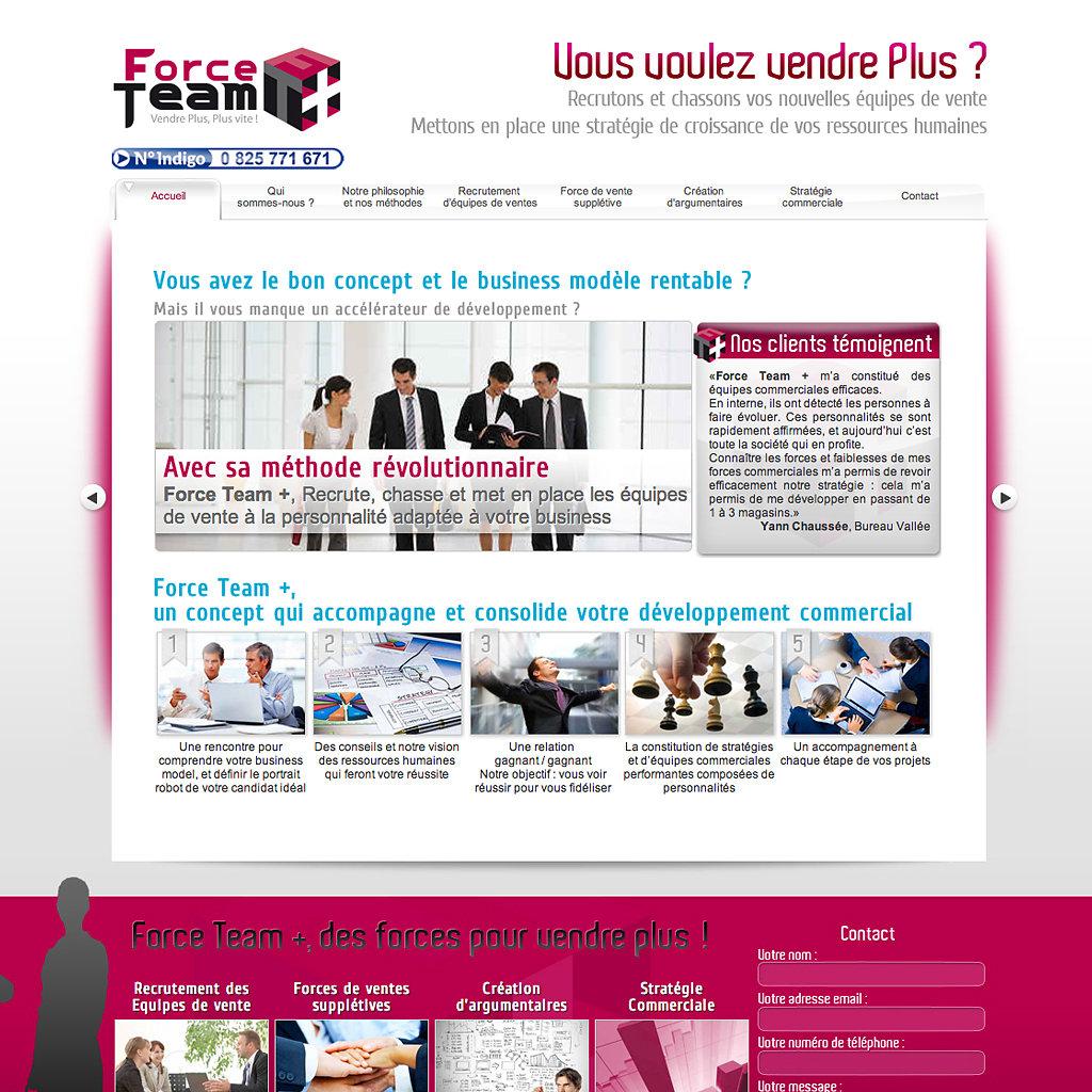 Site Internet forceteamplus.com