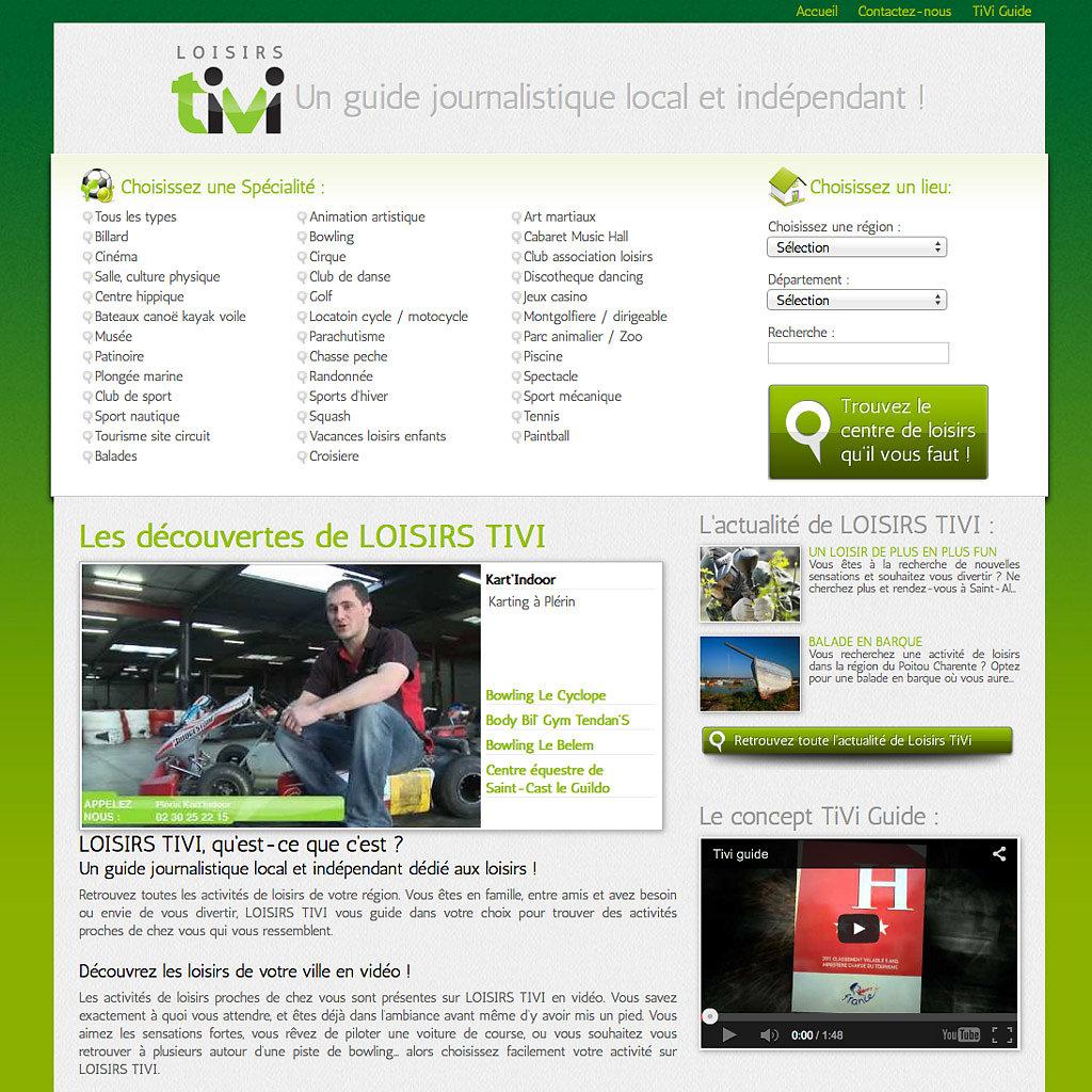 Portail Internet loisirs-tivi.com