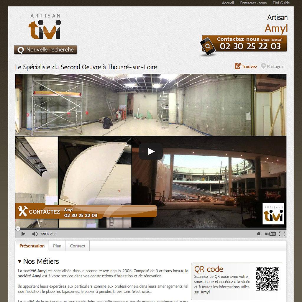 Portail Internet artisans-tivi.com