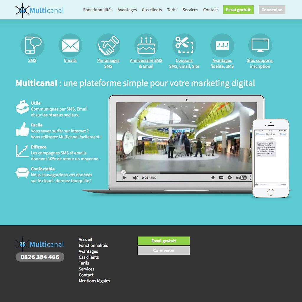Site corporate multicanal.eu