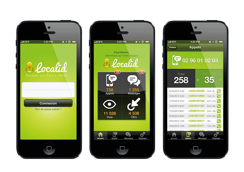 Design d'une application iPhone