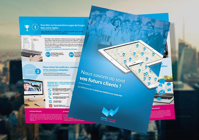 Plaquette commerciale Webforce